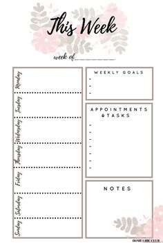 A Proven Way To Turn Your Dreams Into Reality Free Planner, Printable Planner, Free Printables, Weekly Goals, Free Calendar, Goal Planning, Planner Inserts, Day Planners, Dreaming Of You
