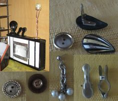 Poirot s work room - props - I could make them of clay, but this make more fun :-) Knife Block, More Fun, Dining Room, Clay, How To Make, Ideas, Clays, Thoughts, Dining Rooms