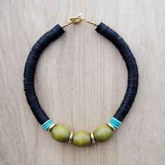 Coucou Suzette // Rachel Necklace // Collier ethnique chic / Thick Tribal / African inspired jewelry / Urban chic necklace / Boho Chunky statement necklace / Ethnic / African / Bohemian necklace / Bold necklace