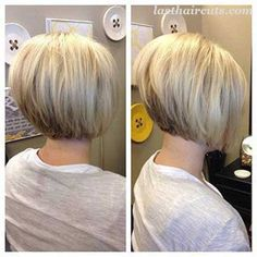 Really Trending Short Stacked Bob Ideas #BobHaircuts
