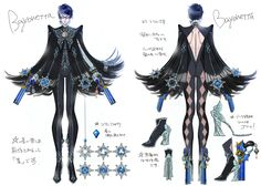 Bayonetta 2 original design by Mari Shimazaki