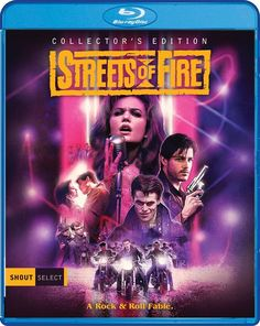 Streets of Fire Blu-ray Collector's Edition by  Shout Factory, Region A