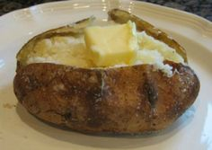 It is very easy to bake the perfect baked potato. If you follow these easy guidelines, you will always have perfect baked potatoes.