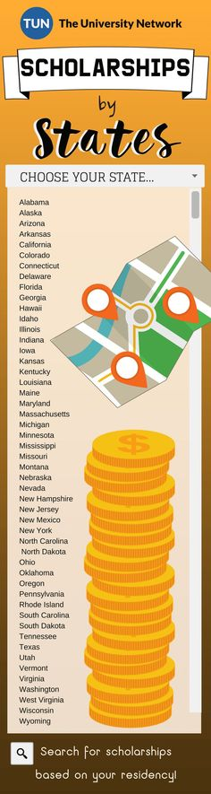 Find scholarships based on your state of residency! There's money everywhere… Find scholarships based on your state of residency! There's money everywhere! – College Scholarships Tips College Packing, College Hacks, School Hacks, College Costs, College Survival, High School Scholarships, College Students, College Tuition, College Club