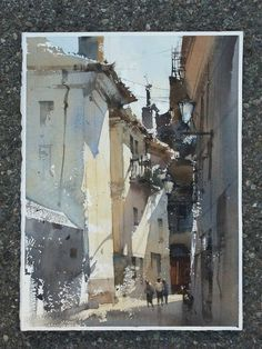 Chien Chung-Wei #watercolor jd