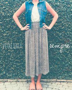 #semprecoleteria♡ #coleteria #havana #jeans #colete #vest www.coleteria.com.br