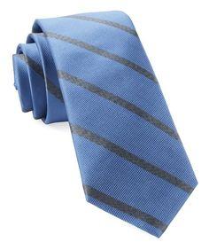 2c76003cb0d8 Light Blue Wheelhouse Stripe Tie | Men's Ties | The Tie Bar Silk Fabric,  Neckties