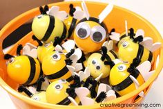 Bee Party Activity: Host a Bee Hunt! (Plus How to Make Bees from Easter Eggs) - Creative Green Living