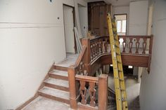 COTE DE TEXAS: AN UPDATE: AIDAN GRAY WITH AN EDGE #AGWITHANEDGE Stairs, Interiors, Living Room, Inspired, Gray, Inspiration, Home Decor, Cote De Texas, Biblical Inspiration
