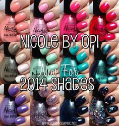 Nicole by OPI New for 2014