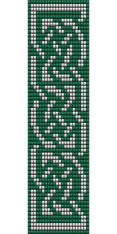 Celtic Knot 2 Loom Bead Patterns Pinteres