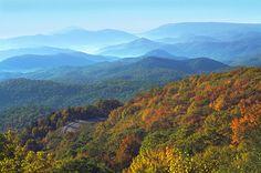 Blowing Rock, North Carolina - most breathtaking mountain views in America