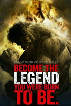 Become the legend you were born to be-the hulk