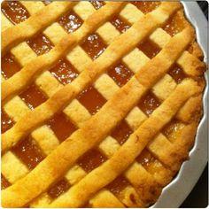 Πάστα Φλόρα Greek Sweets, Greek Desserts, Cookie Desserts, Greek Recipes, Dessert Recipes, Sweet Pie, Sweet Tarts, Greek Cake, Cyprus Food