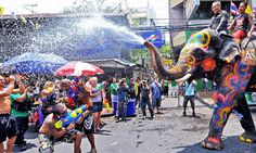 The most important festival of Thai Locals
