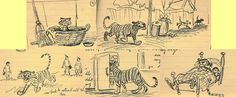 One of my biggest inspirations for drawing is Bill Peet. I was immediately drawn into his style and characters. Here are some rough sketches from his website.