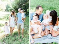 spring and summer family session outfit inspiration | baby blue, white, and blush pink outfits with a gray blanket | family session posing inspiration | Philadelphia family mini-session photographer | Alison Dunn Photography Blush Pink Outfit, Pink Outfits, Mini Sessions, Family Photographer, Baby Blue, Philadelphia, Blanket, Gray, Couple Photos