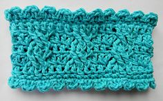 Ravelry: Funky Cable Twist Ear-Warmer pattern by Glamour4You