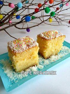Şerbetli tatlıların olmazsa olması revani...   İçinde bol rimon rendesi ile...       Malzemeler:     3 yumurta  1 su bardağı şeker  1...