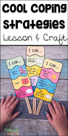 Teach coping strategies with a fun and interactive ice pop craft! Kids learn about coping strategies and then create their own pop that illustrates the strategies they want to try. Perfect for small groups to teach skills to manage emotions. Kids Coping Skills, Coping Skills Activities, Art Therapy Activities, Time Activities, Social Emotional Learning, Social Skills, Emotional Regulation, Homeschool Kindergarten, Preschool