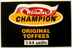 Wilson's Champion Toffees South African Dishes, South African Recipes, Sweet Memories, Childhood Memories, Best T Shirt Brands, Tv Ads, The Old Days, Growing Up, The Beautiful Country
