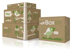 The eBay Box - The Dieline -