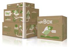The eBayBox - The Dieline -