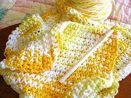 I love to crochet dish clothes!