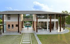 trendsideas.com: architecture, kitchen and bathroom design: Resort-style home by architect Kun Lim