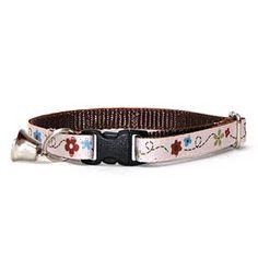 Bumble Flower Safety Cat Collar