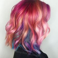 rainbow sherbet by @the_blondologist