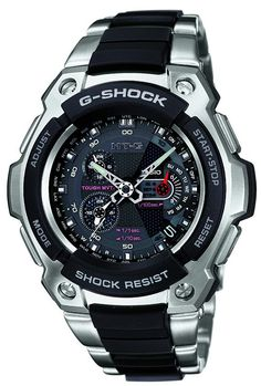 I don't normally think G-Shock as my type of men's watch, but this Casio G-Shock MT-G MTG1100-1A is really the most handsome of its kind! *faint*