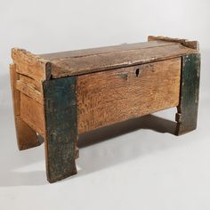 15th century chest, Marhamchurch antiques