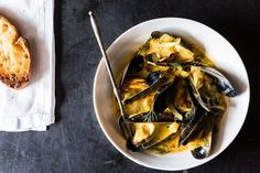 Mussels with Fennel, Italian Sausage & Pernod • Dinner Side • Thinking of changing the sausage to Portuguese.