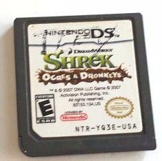 Nintendo DS Dsi Dsl Game SHREK OGRES & DRONKEYS