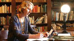 Agatha starts a new novel.