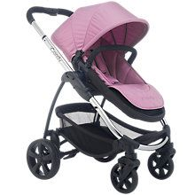Buy iCandy Strawberry 2 Pushchair with Chrome Chassis, Carrycot & Smoothie Hood Online at johnlewis.com