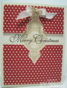 Ornament Keepsake by iafarmgirl1 - Cards and Paper Crafts at Splitcoaststampers