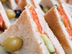 Receta de Sandwiches de Salmón Ahumado