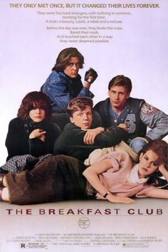"""""""One simply cannot die without having seen The Breakfast Club. (Or St. Elmo's Fire)"""" Who ever said that was right!"""