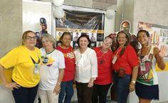 Nossa equipe está dando show na venda de camisetas e produtos GACC-RN na feira Brasil Mostra Brasil.  #GACCRN #EQUIPEGACC #BRASILMOSTRABRASIL