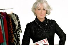 Meryl Streep. The Devil Wears Prada.