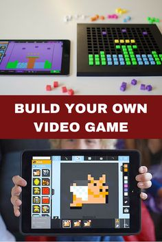 What's the coolest gift this season? Bloxels is the revolutionary video game designer that allows creative kids (and adults) to create their own video games from scratch! Clever Kids, Creative Kids, Consumer Products, Build Your Own, Building Toys, Cool Gifts, Holiday Gifts, Video Games, Crafts For Kids