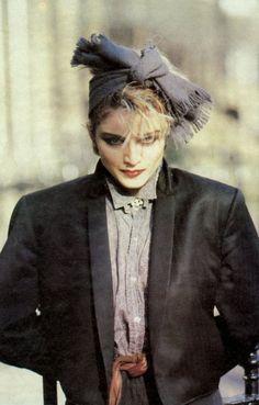 """Madonna photographed by Joe Bangay, 1982 "" Madonna Rare, Madonna 80s, Madonna Costume, Big Hair Bands, Madonna Looks, Divas Pop, Madonna Fashion, Still Love Her, Actrices Hollywood"