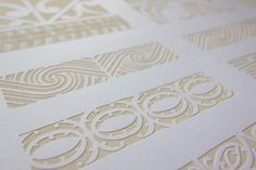 Mark and Pattern by Tobias Wilbur, via Behance