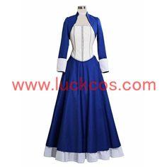 BioShock Infinite Elizabeth Cosplay Costume Female Dress Custom in your size