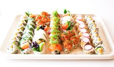 Sushi Catering, Ethnic Recipes, Food, Products, Food Food, Meals