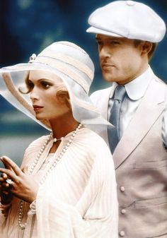The Great Gatsby - This 1970s film perfectly captured the flapper style of the Jazz Age, with the character Daisy (played by Mia Farrow) dressed almost exclusively in white. The film went on to win the Oscar for Best Costume Design.    FACT: Luckily the 1920s style was drop-waisted - Farrow was pregnant during the shooting and the film had to be shot wearing loose, flowing dresses.