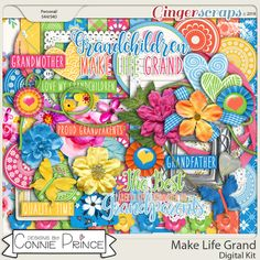 Make Life Grand - Kit by Connie Prince