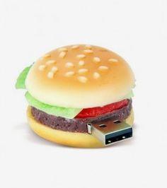 Clé USB hamburger - 2GO